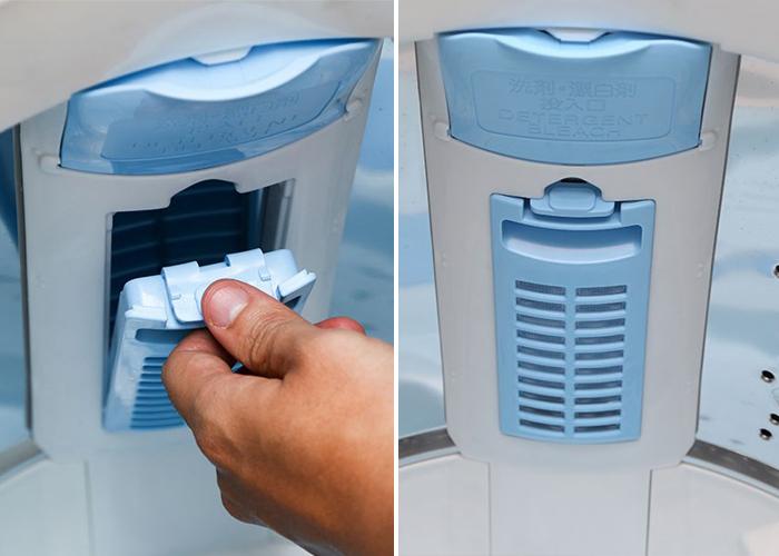 Đừng bỏ qua bộ lọc và vòi khi rửa / bảo trì hệ thống máy giặt quần áo